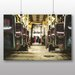 Big Box Art Bus Seats Photographic Print Wrapped on Canvas