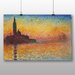 Big Box Art 'Saint Georges' by Claude Monet Art Print
