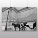 Big Box Art 'Black and White Horse and Carriage' Photographic Print