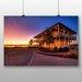 Big Box Art 'Beach House Sunset' Photographic Print