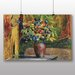 Big Box Art 'Vase of Flowers' by Edouard Vuillard Art Print
