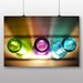 Big Box Art 'Colourful Glass Bottles' Photographic Print