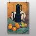 "Big Box Art ""Oranges and Kettle"" by Emile Bernard Art Print"