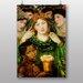 "Big Box Art ""The Beloved"" by Dante Gabriel Rossetti Art Print"