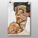 "Big Box Art ""Self Portrait No.3"" by Egon Schiele Art Print"