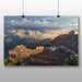 Big Box Art Grand Canyon Powell Point Evening Photographic Print on Canvas