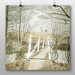 "Big Box Art ""Iron Bridge"" by Eric Ravilious Art Print Wrapped on Canvas"