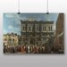 Big Box Art 'The Feast Day of St Roch' by Giovanni Canaletto Art Print
