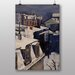 "Big Box Art ""Rooftops in the Snow No.2"" by Gustave Caillebotte Art Print"