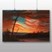 Big Box Art 'Our Banner in the Sky' by Frederic Edwin Church Art Print