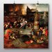 Big Box Art 'The Temptation of St Anthony' by Hieronymous Bosch Art Print