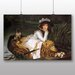 Big Box Art 'Young Lady in a Boat' by James Tissot Art Print