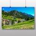 Big Box Art 'Green Landscape' Photographic Print