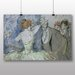 Big Box Art 'In the Wings' by Jean Louis Forain Art Print