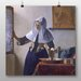 Big Box Art 'Woman with a Water Jug' by Johannes Vermeer Art Print