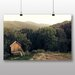 Big Box Art Hut in Forest Photographic Print Wrapped on Canvas