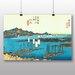 "Big Box Art ""Japanese Oriental Ejiri"" by Hiroshige Art Print"
