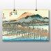 "Big Box Art ""Japanese Oriental Kyoto"" by Hiroshige Art Print"