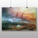 Big Box Art 'Slave Ship' by Joseph Mallord William Turner Art Print
