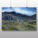 Big Box Art Misty Mountains Photographic Print Wrapped on Canvas