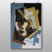 "Big Box Art ""Guitar with Clarinet"" by Juan Gris Art Print"