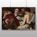 Big Box Art 'Music' by Michelangelo Caravaggio Art Print