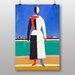 Big Box Art The Rake by Kazimir Malevich Art Print