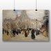 Big Box Art 'Place St Augustin' by Jean Francois Raffaelli Art Print
