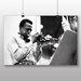 Big Box Art Miles Davis Photographic Print on Canvas