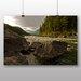 Big Box Art Mountain Stream No.2 Photographic Print Wrapped on Canvas