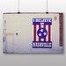 Big Box Art 'Nashville Flag' Photographic Print