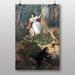 Big Box Art Schwind Advenyures of Joseph Binder Anagoria by Moritz Von Schwind Art Print