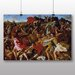 Big Box Art 'Victory of Joshua over the Amalekites' by Nicolas Poussin Art Print