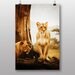 Big Box Art Lion Lioness No.2 Photographic Print on Canvas