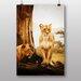 Big Box Art Lion Lioness No.2 Photographic Print