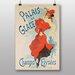 Big Box Art 'Artwork No.17' by Jules Cheret Vintage Advertisement