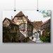 Big Box Art 'Wartburg Castle Courtyard' by Moritz Von Schwind Art Print