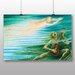 """Big Box Art """"Water Spirit"""" by Nils von Dardel Art Print on Canvas"""