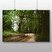 Big Box Art 'Path Through the Woodland No.2' Photographic Print