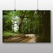Big Box Art 'Path Through the Woodland' Photographic Print