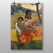 Big Box Art Nafea Faa Ipoipo by Paul Gauguin Art Print