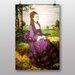 "Big Box Art ""Woman in a Purple Dress"" by Pal Merse Art Print"