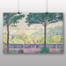 Big Box Art 'Terrace of Meudon' by Paul Signac Art Print