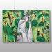 Big Box Art 'The Waterfall' by Nils von Dardel Art Print