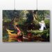 Big Box Art 'The Voyage of Life Youth' by Thomas Cole Art Print