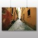 Big Box Art Town Street Photographic Print on Canvas