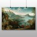 Big Box Art 'the Elder Landscape' by Pieter Bruegel Art Print