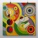 Big Box Art 'Rhythm' by Robert Delaunay Art Print
