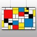 Big Box Art 'Style Of' by Piet Mondrian Graphic Art