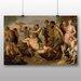 Big Box Art 'The Triumph of Bacchus' by Peter Paul Rubens Art Print